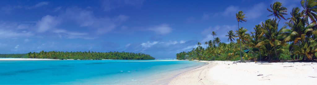 Tropical Panoramic Photo - Cook Islands